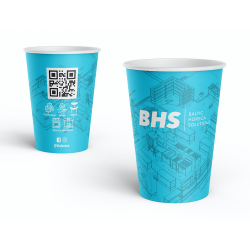 Single wall paper cup 350ml