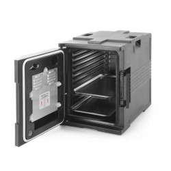 Thermo-insulated container with heating function – catering