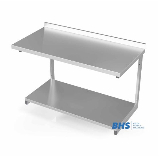 Seinale kinnitatud tugevdatud riiuliga laud