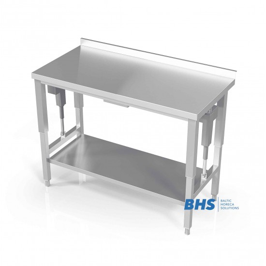 Reguleeritava kõrgusega riiuliga töölauad