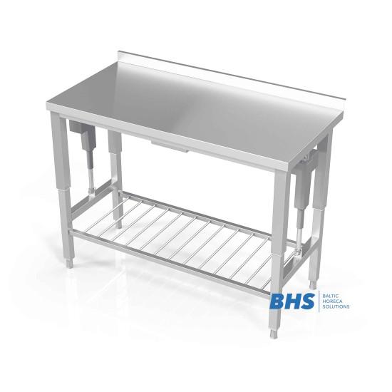 Reguleeritava kõrgusega rest-riiuliga töölauad