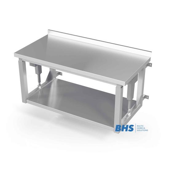 Reguleeritava riiulipinnaga seinale kinnitatavad lauad