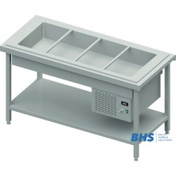 Chafing dish with a spacer 4xGN1/1