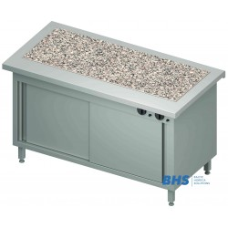 Hot granite surface 3 GN1/1 with heated cupboard