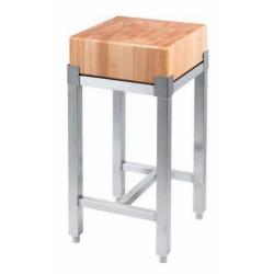 Wooden butcher's block 400x400  mm