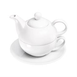 Tea pot with cup and saucer 350 ml