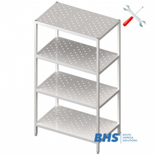 Folding stainless steel furniture