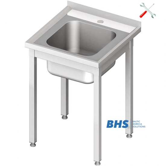 Easy to assemble tables with sink
