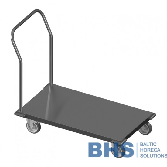 Low platform trolley