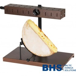 Raclette grill for 1/2 cheese