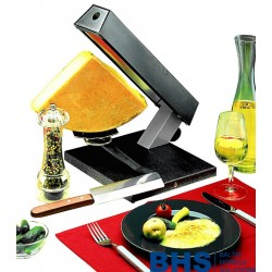 Raclette grill for 1/4 cheese