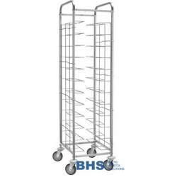 Universal trolley for 12 trays