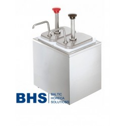 Dispenser with 2 pumps