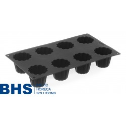 Baking mould silicone GN1/3 MINI CANNELE BORDELAIS