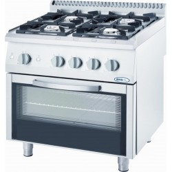 Gas oven with convection oven 22.5/7.0 kW