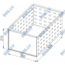Perforated insert for large drawers