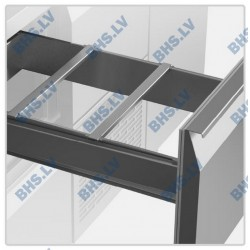 Removable drawer dividers for GN (1/3, 1/6, 1/9, 2/3), 2 pcs.