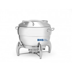 Chafing dish Premium Round 11 L is suitable for induction heating