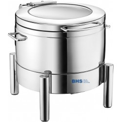 Chafing dish De Luxe 9 liters suitable for induction heating