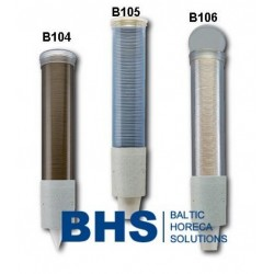 Cup dispenser B104-B106