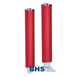 Cup dispenser B63/B64 red