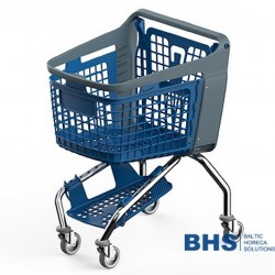 Shopping cart with tray BRAVO