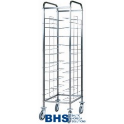 Universal trolley for 10 trays