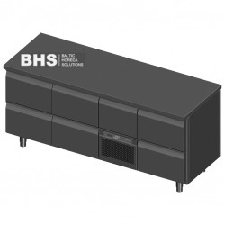 Cooling counter for beer boxes P317