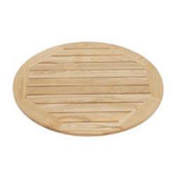 Wooden table top D-60 cm