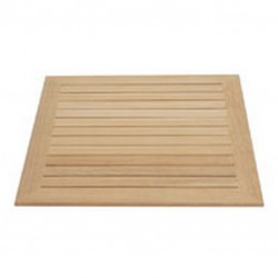 Wooden table top 60x60 cm
