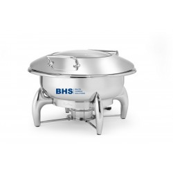 Chafing dish Premium Round 6 L is suitable for induction heating