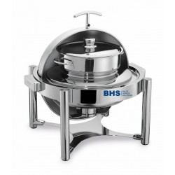 Chafing dish ROLLTOP round 10 liters suitable for induction heating