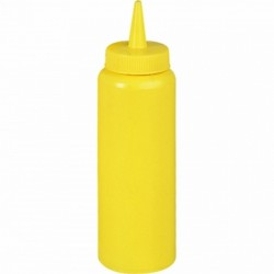 Dispenser for sauces 700 ml yellow