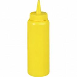 Dispenser for sauces 700 ml yellow
