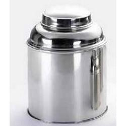 Metal box for tea