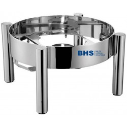 Tray for chafing dish De Luxe 6 liters round