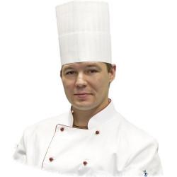 Premium disposable Chefs hat, h 200 mm