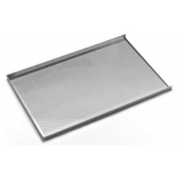 Tray perforated