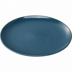 Plate 200 mm blue
