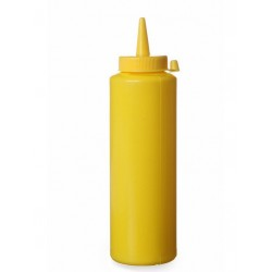 Dispenser for sauces 350 ml, yellow