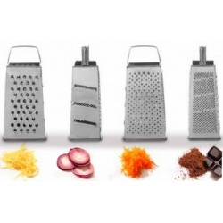 Grater four-sided
