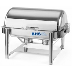 Chafing dish ROLLTOP De Luxe GN 1/1 suitable for induction heating