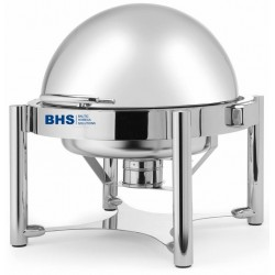 Chafing dish ROLLTOP round 6 liters suitable for induction heating