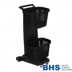 Double-basket shopping cart SNUPY