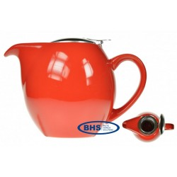 Kettle with stainless steel lid and filter 750 ml