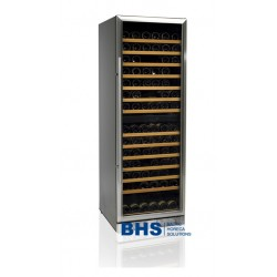 Wine cooler 350 liters with 2 zones SS