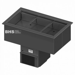 Drop-In ventilated cold basin 495 mm