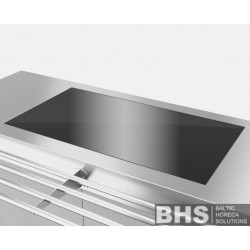 Built-In heated glass surface 400 mm