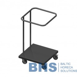 Trolley for plastic bags