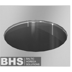 Stainless steel waste hole